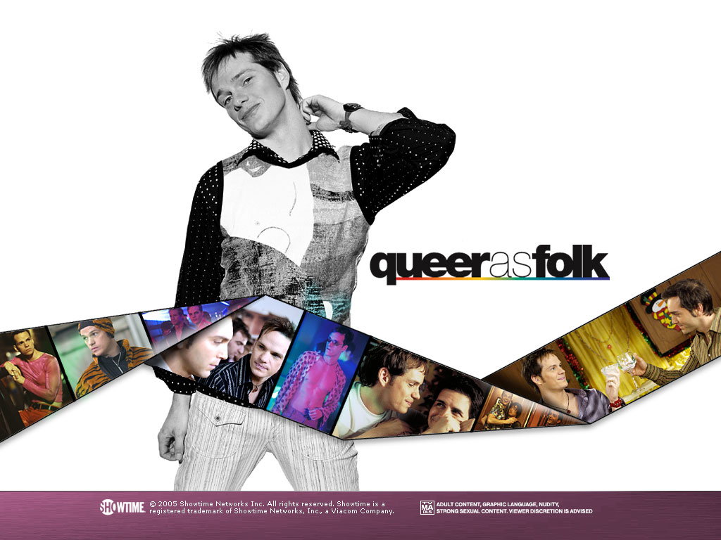 Emmett Honeycutt (portrayed by Peter Paige) in Showtimes Queer As Folk -- another Pennsylvanian with pizzazz. Showtime promotional image.