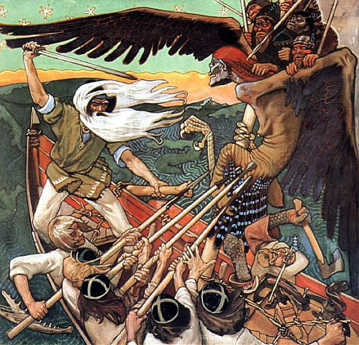 Defense of the Sampo by Akseli Gallen-Kallela