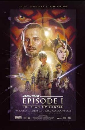 Star Wars Episode 1: Phantom Menace (poster)