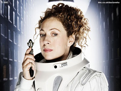 "Alex Kingston as Dr. River Song in ""Doctor Who"""